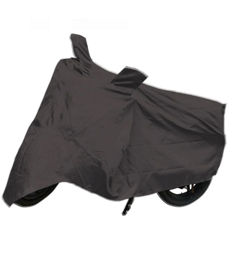 Buy Capeshoppers Bike Body Cover Grey For Yamaha Ybr 110 online