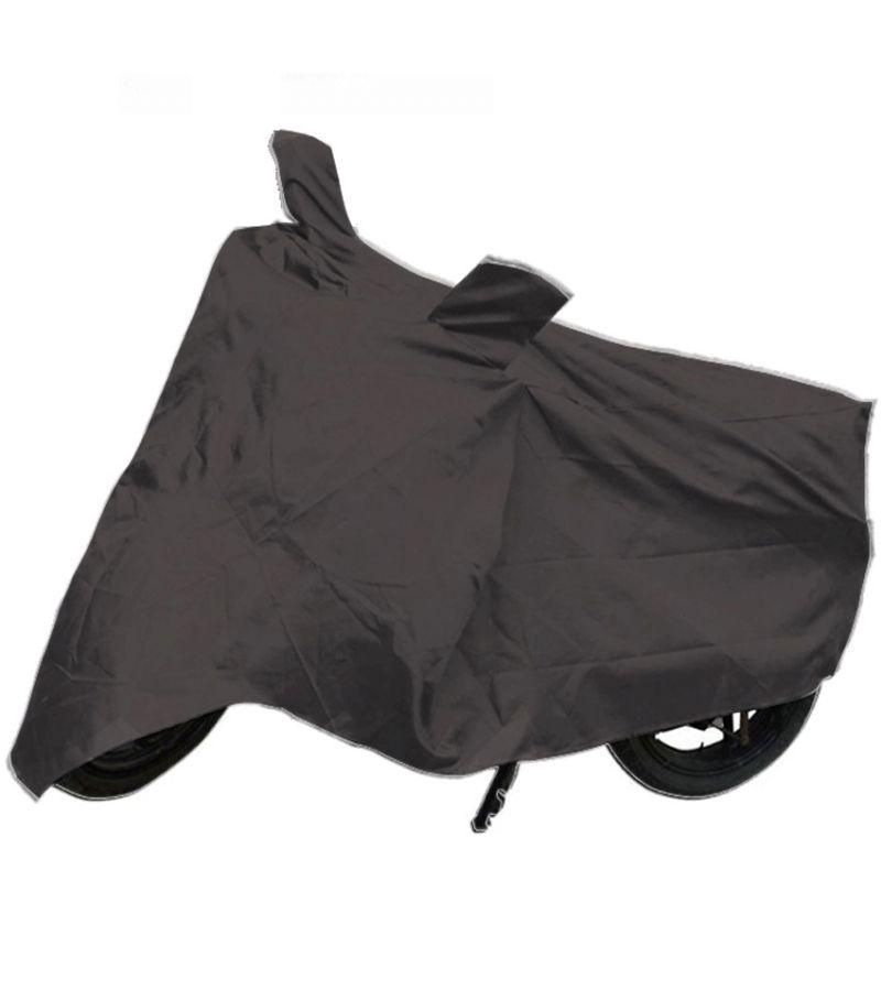 Buy Capeshoppers Bike Body Cover Grey For Yamaha Fazer Fi online