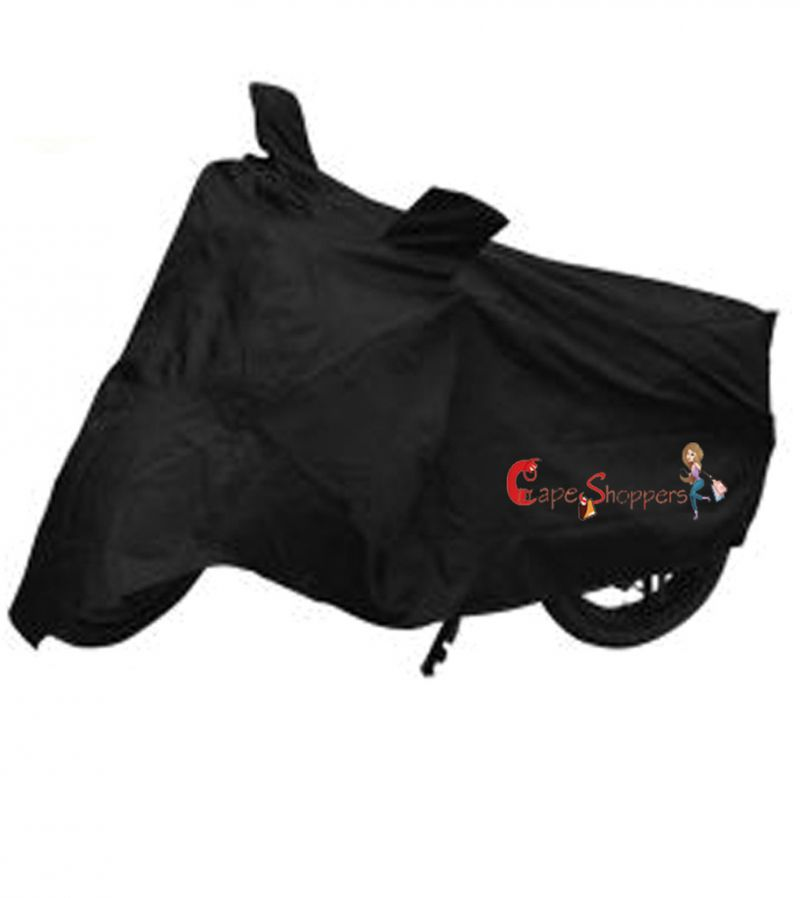 Buy Capeshoppers New Advance Bike Body Cover Black For Tvs Scooty online