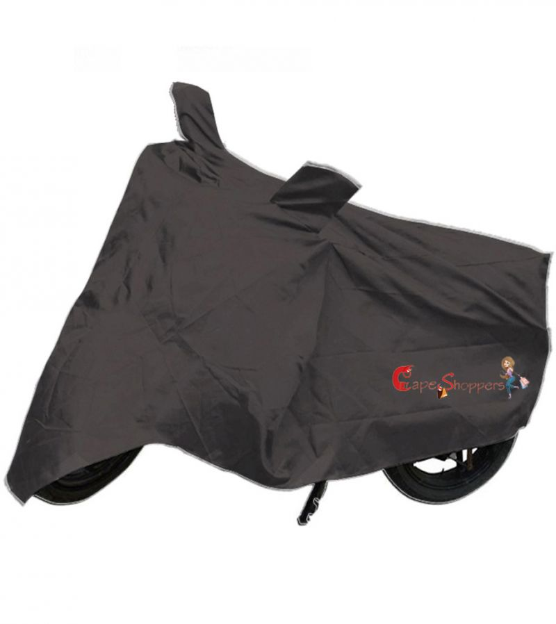 Buy Capeshoppers New Advance Bike Body Cover Grey For Yamaha Alpha Scooty online