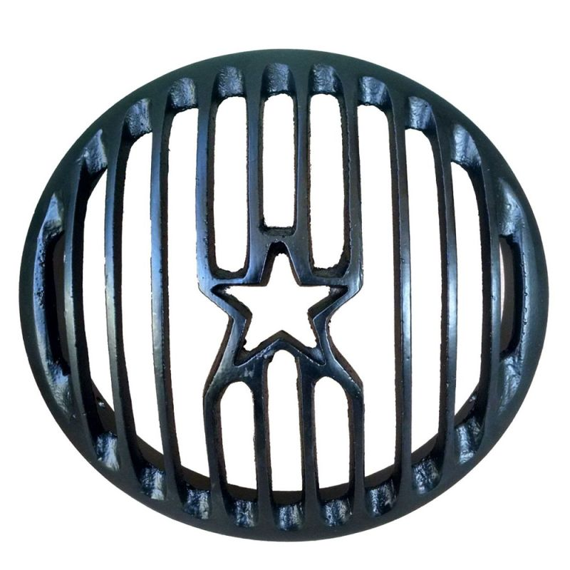 Buy Capeshoppers Star Headlight Grill Cover Royal Bullet For Classic 500 online