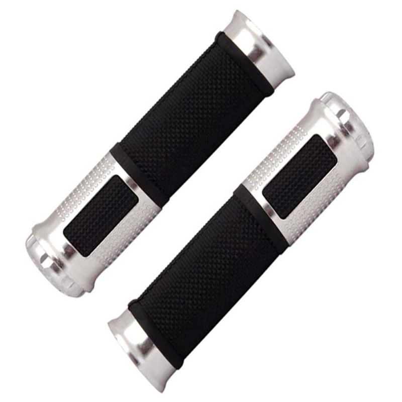 Buy Capeshoppers Bike Handle Grip Silver For Tvs Super Xl Double Seater online