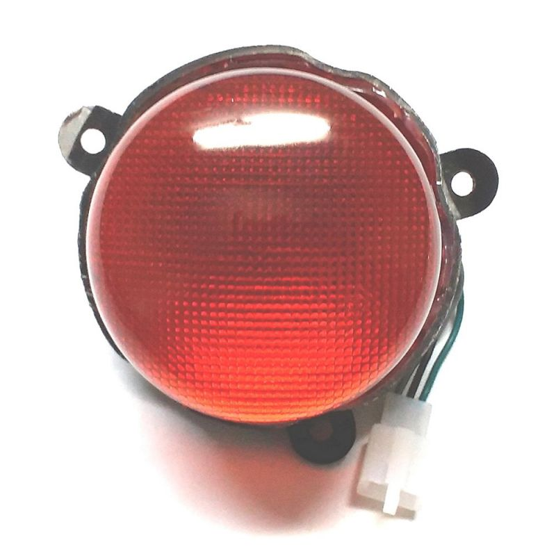 Buy Capeshoppers Bike Tail Light Assembly For Royal Bullet Classic Chrome online
