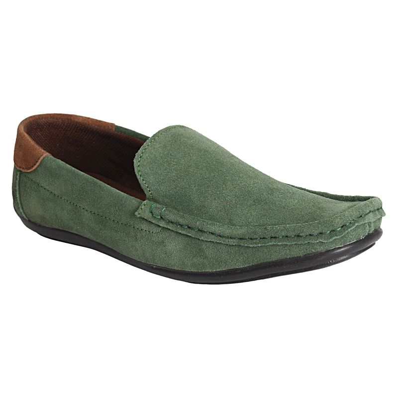 Buy Bachini Green Loafers For Mens (product Code - 1511-green) online