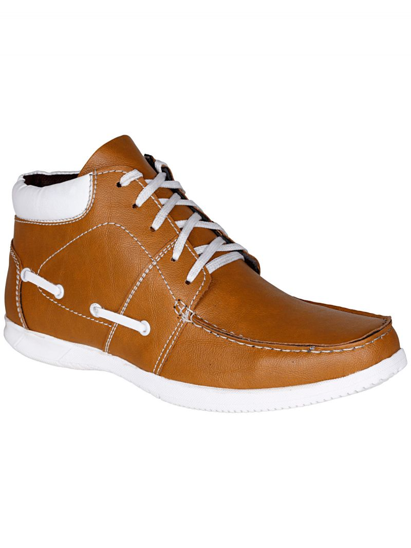 Buy Bachini Tan Half Ankle Boot For Mens (product Code - 1541-tan) online