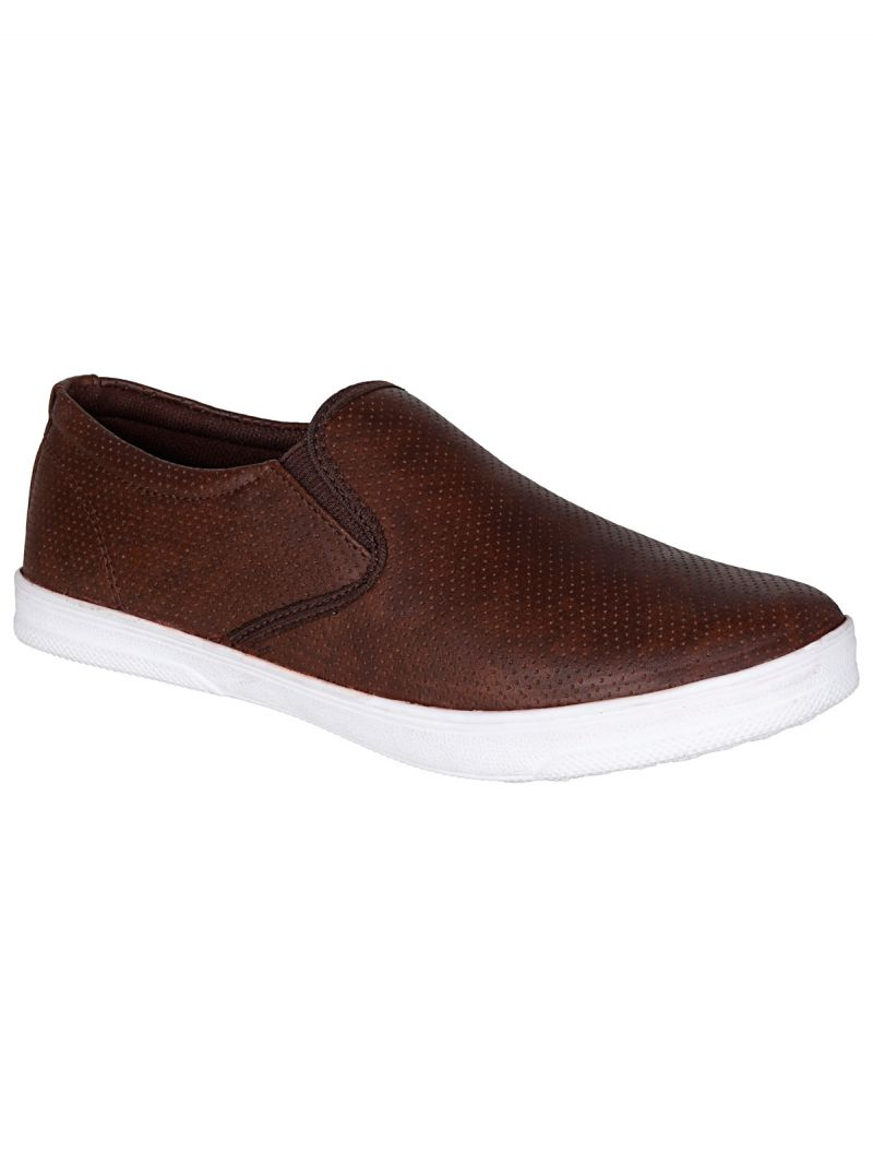 Buy Bachini Brown Mens Casual Shoe Slipon online