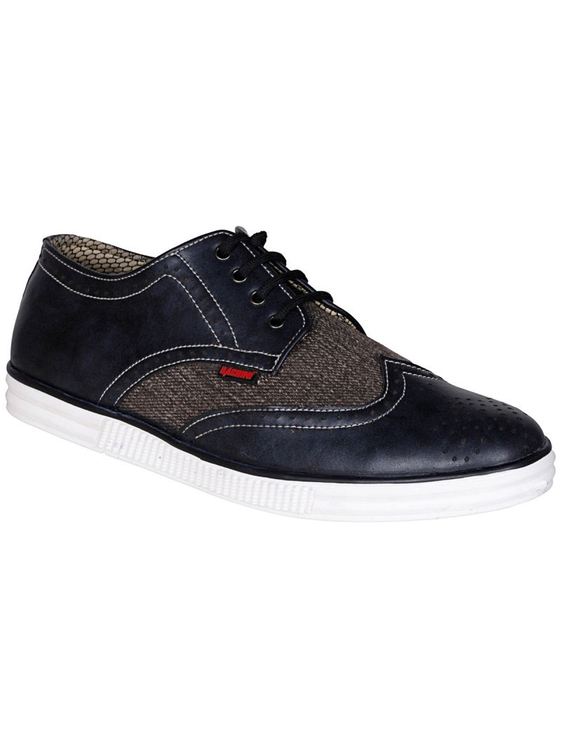 Buy Bachini Black Mens Casual Shoe Lace Up - ( Product Code - 1553-black ) online