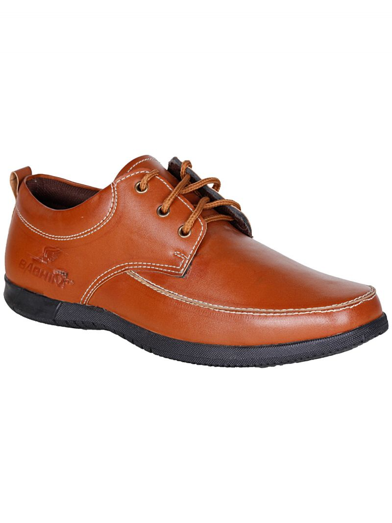 Buy Bachini Tan Lace Up Casual Shoes For Mens (product Code - 1558-tan) online