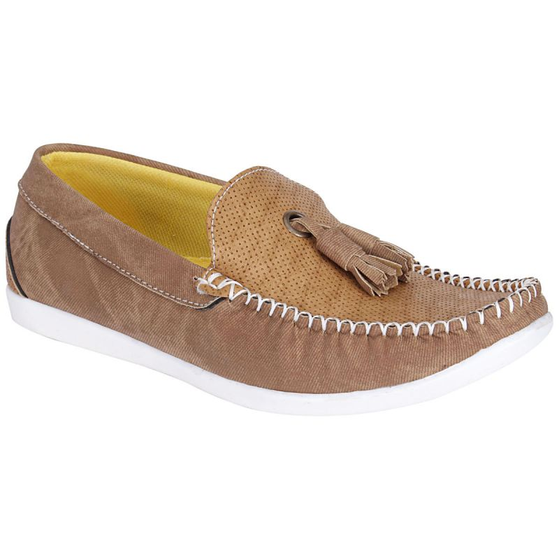 Buy Bachini Tan Loafers For Mens (product Code - 1590-tan) online