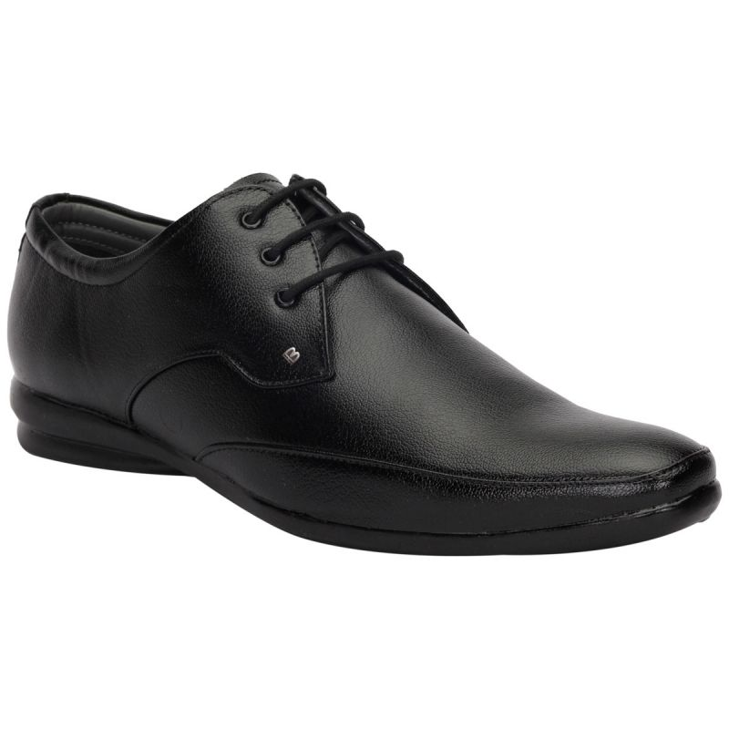 Buy Bachini Black Formal Shoes For Men (product Code - 1593-black) online