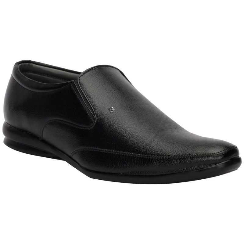 Buy Bachini Black Formal Shoes For Men (product Code - 1595-black) online