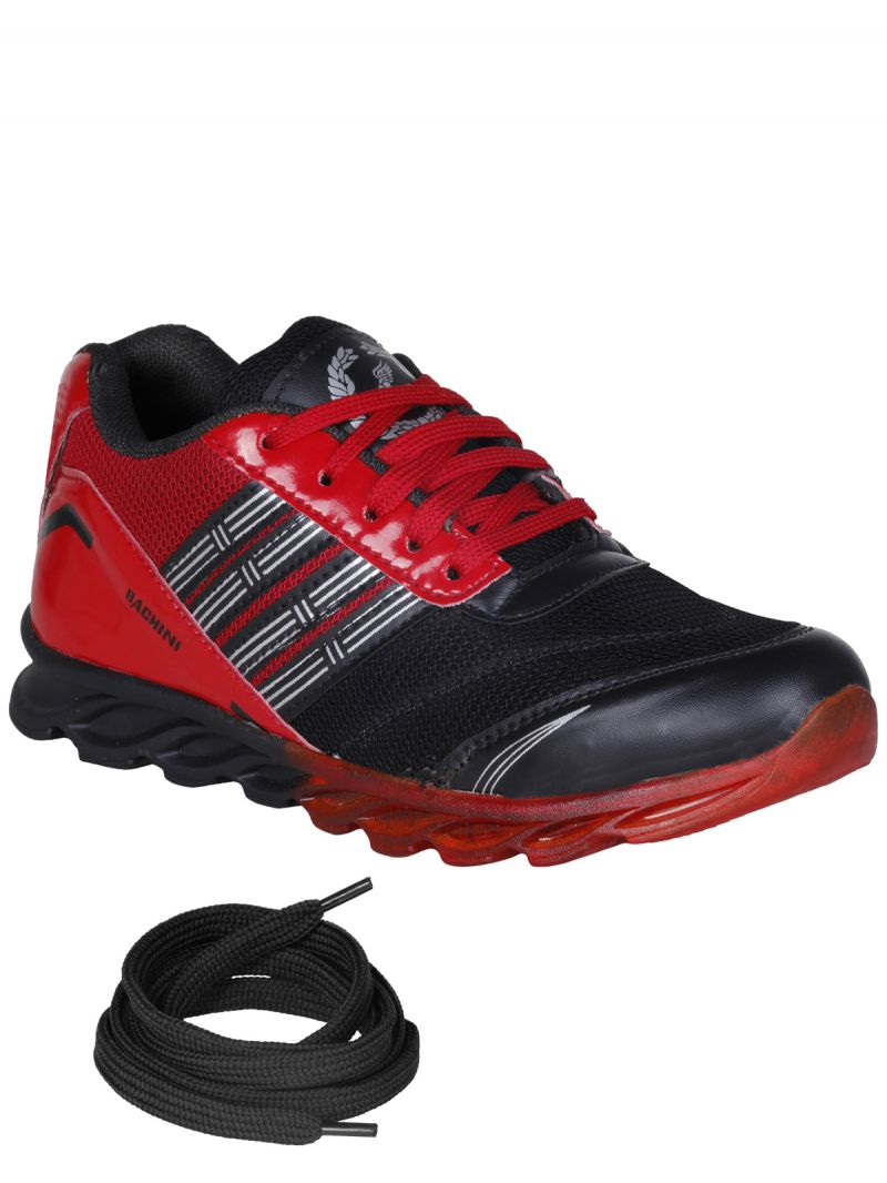 Buy Bachini Red Mens Sports Shoes online