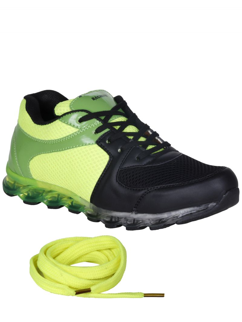 Buy Bachini Green Mens Sports Shoes-(product Code-1602-green) online