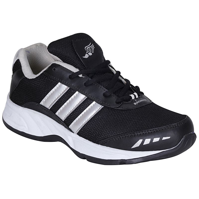 Buy Bachini Black Sport Shoes For Men (product Code - 1608-black) online