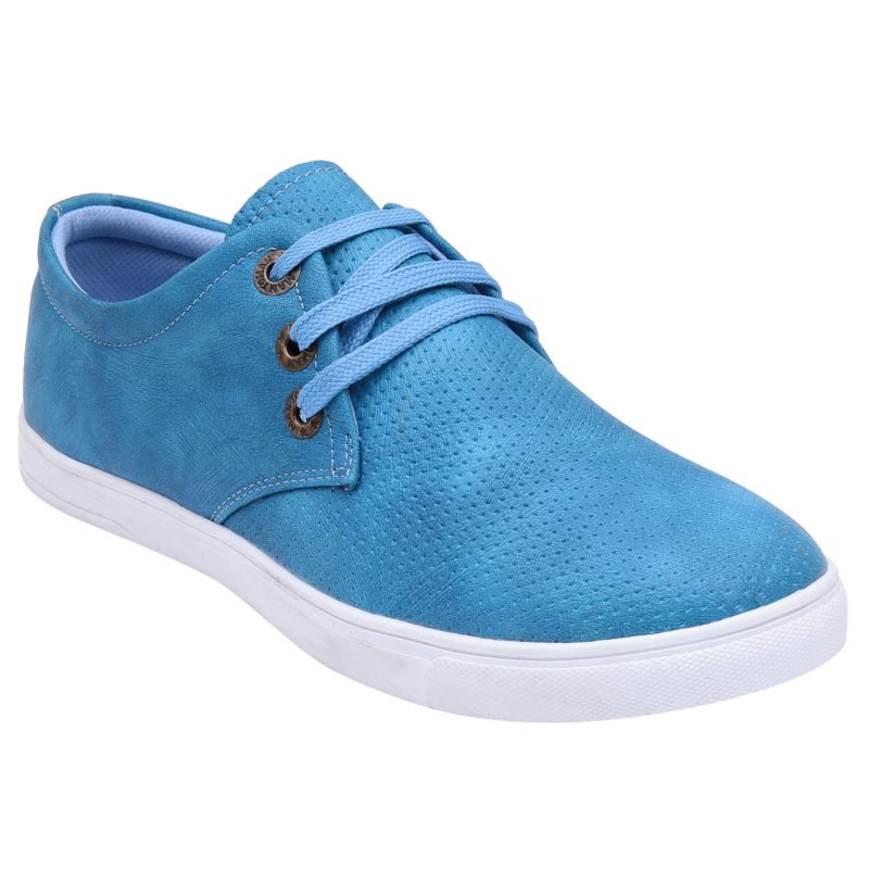 Buy Mansway Blue Casual Shoes For Men ( Code - Mn-7351-blu_6 ) online