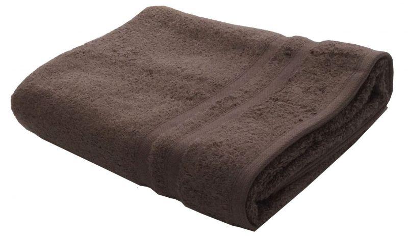 Buy Lushomes Premium Terry Cotton Brown Bath Towel (super Absorbent)_cobt54-1009 online