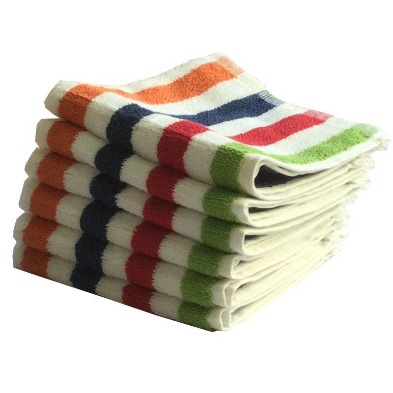 Buy Lushomes Cotton Multi Face Towel Set (pack Of 6) online