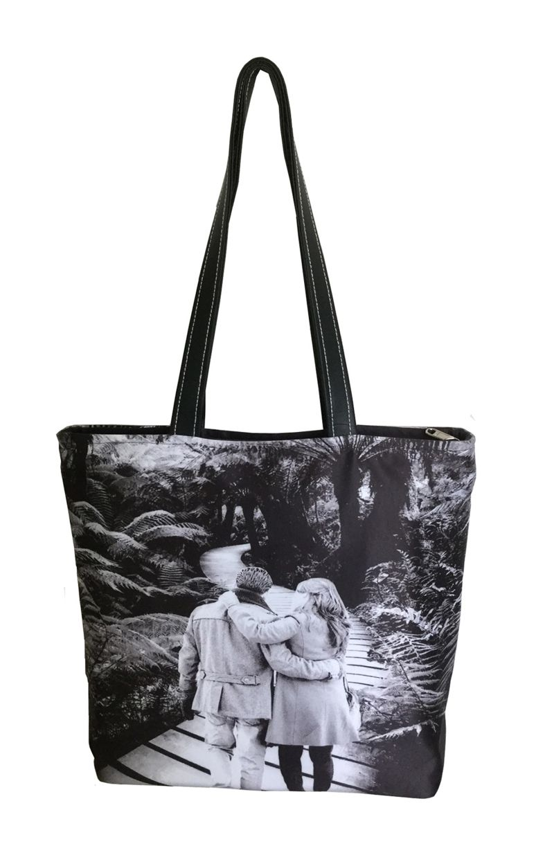 Buy Lushomes Romance Digital Printed Polyester Tote online