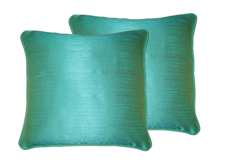 Buy Lushomes Blue Stone Twinkle Star Cushion Covers 12 X 12 Pack Of 2 online