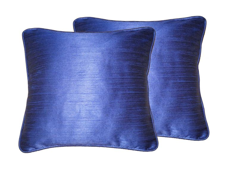 Buy Lushomes Fire Blue Twinkle Star Cushion Covers 12 X 12 Pack Of 2 online
