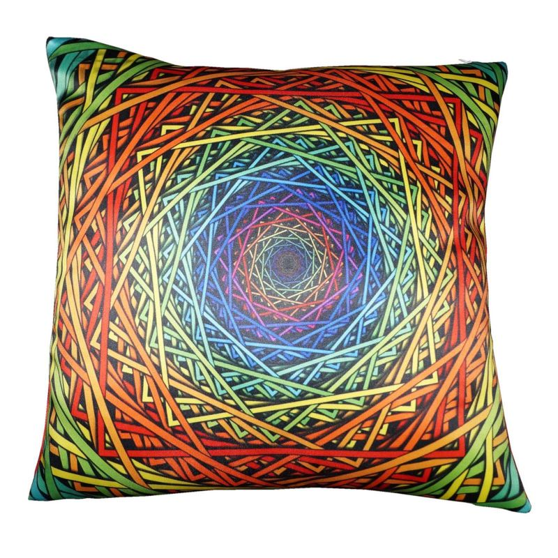 Buy Lushomes Digital Printed Endless Cushion Cover On Premium Whiteout Fabric online