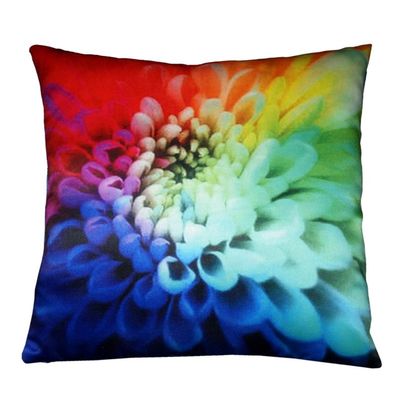 Buy Lushomes Digital Printed Petals Cushion Cover On Premium Whiteout Fabric online