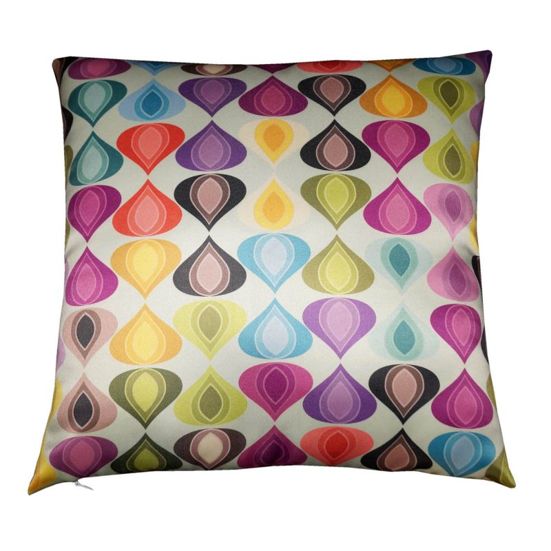 Buy Lushomes Digital Printed Abstract Cushion Cover On Premium Fabric online
