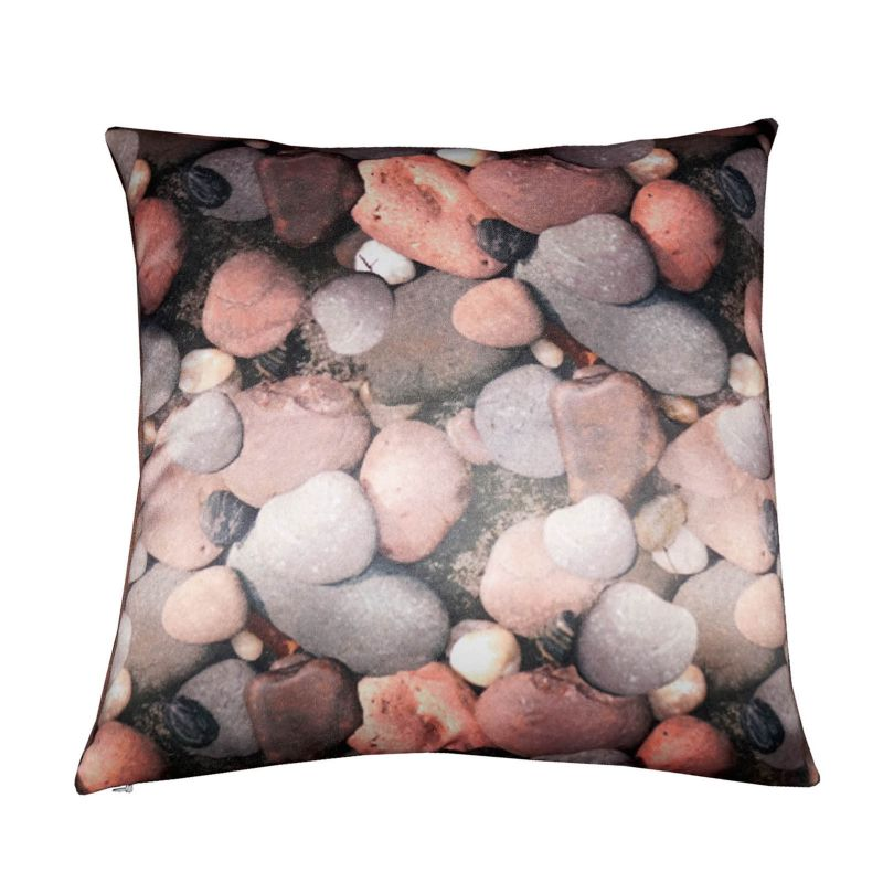 Buy Lushomes Digital Printed Peebles Cushion Cover On Premium Whiteout Fabric online