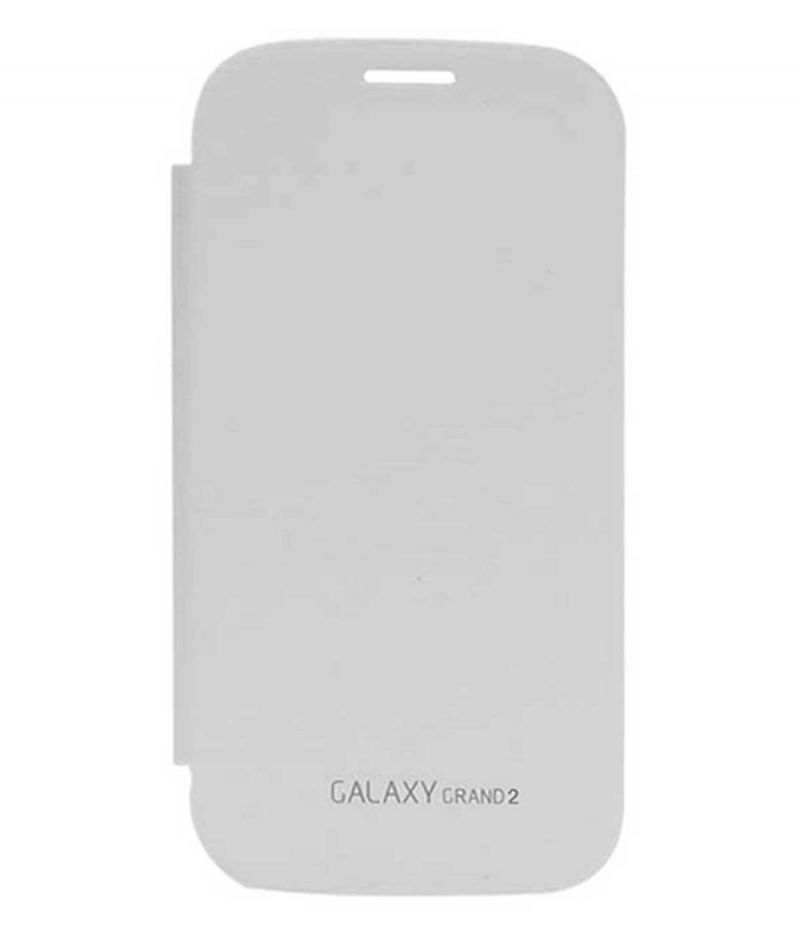 more photos 4dec4 81270 Tbz Flip Cover Case For Samsung Galaxy Grand 2 -white