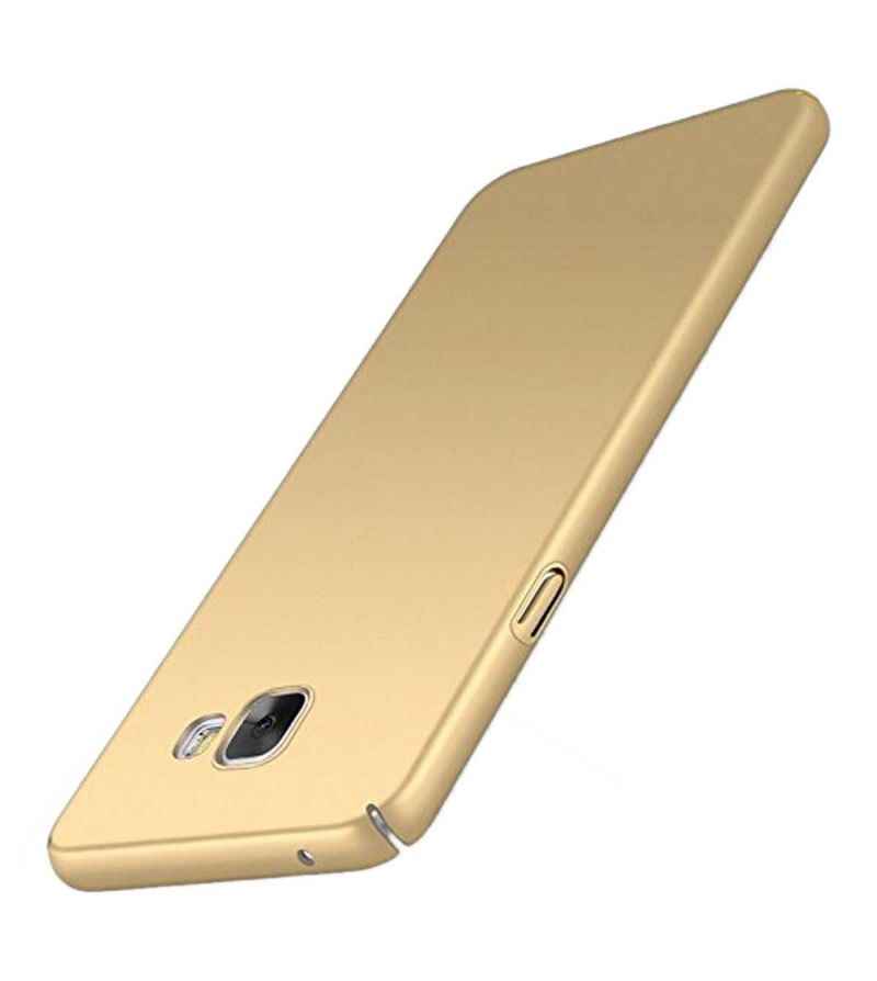 pretty nice 34754 8064a Tbz Protection Hard Back Case Cover For Samsung Galaxy J7 Max - Golden