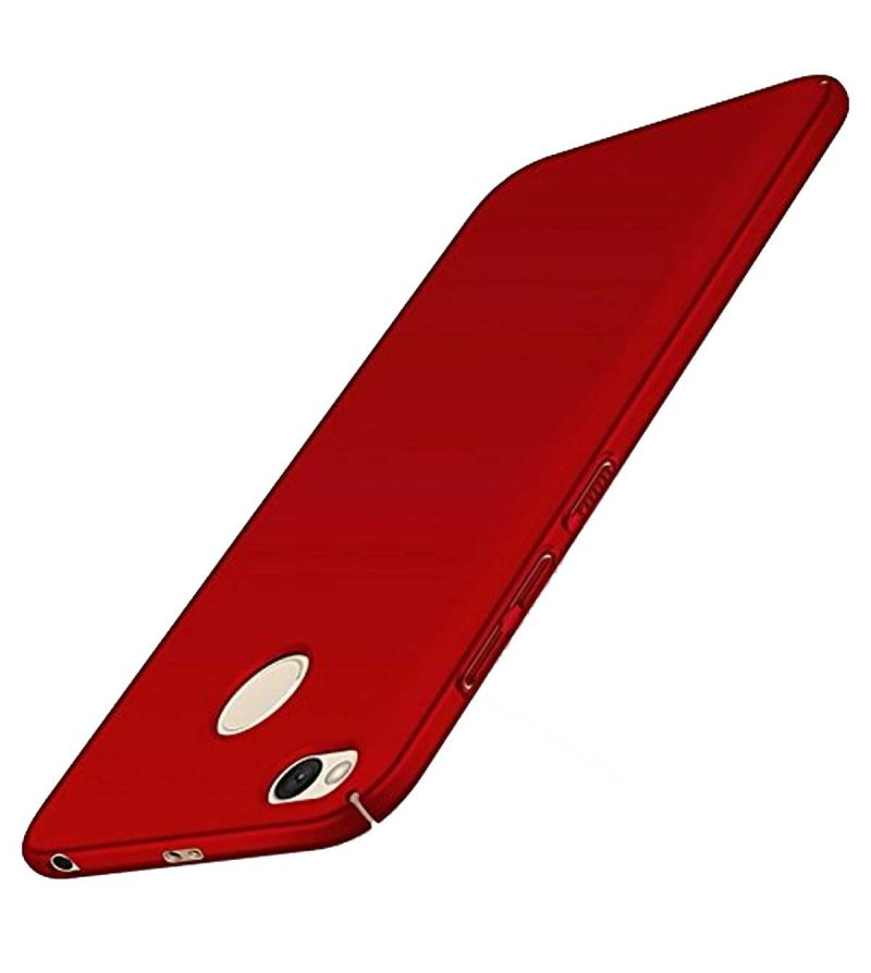 Buy Tbz Hard Back Case Cover For Xiaomi Redmi 4 - Red online