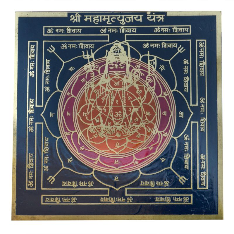 Buy Pandit Nm Shrimali Mahamrityunjaya Yantra Copper Plated online