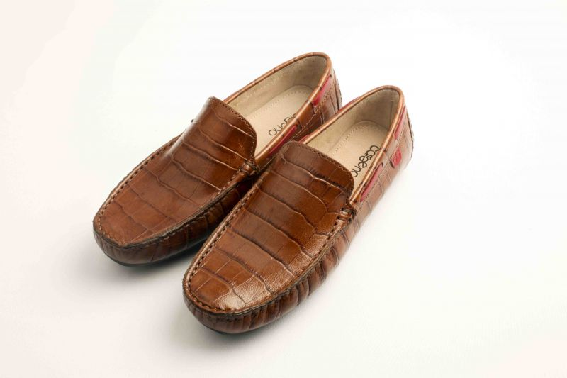 Buy Careeno Carlo Tan Leather Loafers And Moccasins online