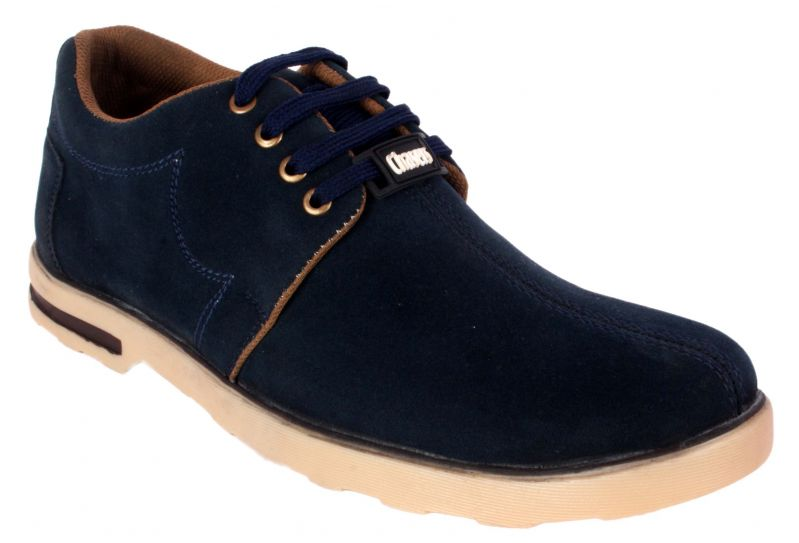 Buy George Adam Mens Synthetic Leather Blue Casual Shoes (code - Ch_2001_blue) online