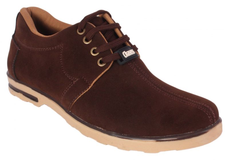 Buy George Adam Mens Synthetic Leather Brown Casual Shoes online