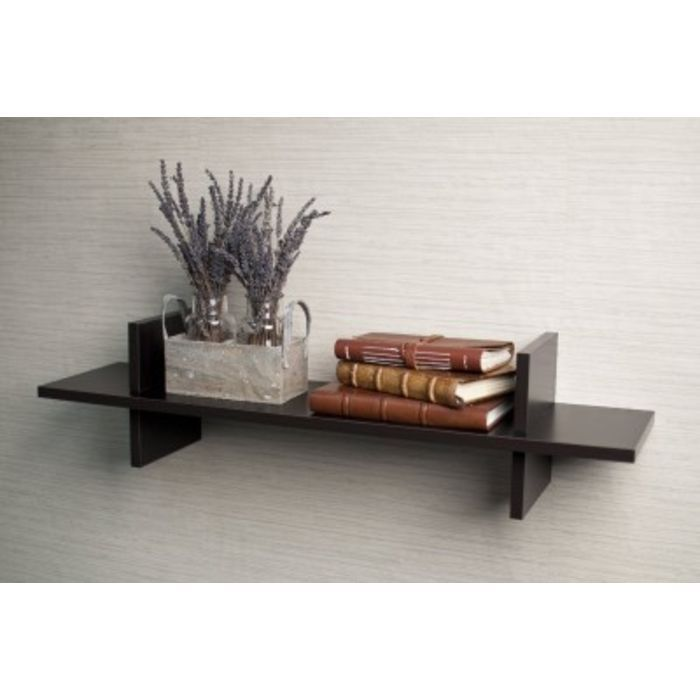 Buy Onlineshoppee Home Decor Premium Solid Wood Shelf Rack Wall Bracket Handicraft online