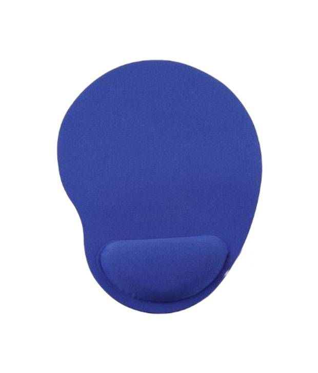 Buy Hashtag Glam 4 Gadgets Super Comfort Gel Mousepad Blue online