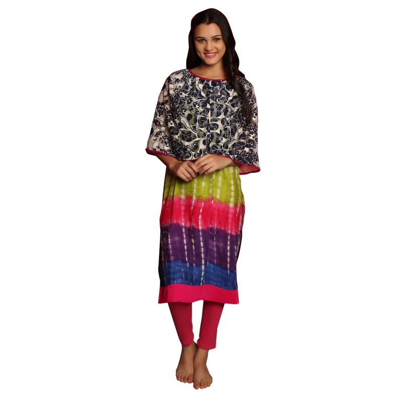 Buy De'Moda Women'S Rainbow Color Maternity Kurti online