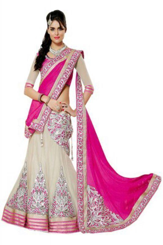 Buy Whatshop Hot Favourite Pink Designer Lehenga Choli online