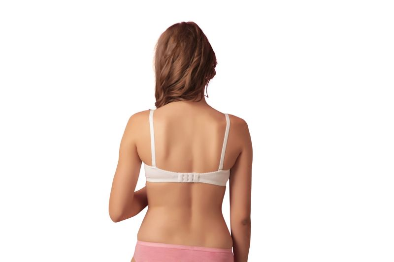 f2c38ff45f4a7 Sona Blsm Everyday Demi Cup Non-padded Multiway T-shirt Bra-(code-sl-blossom -white)