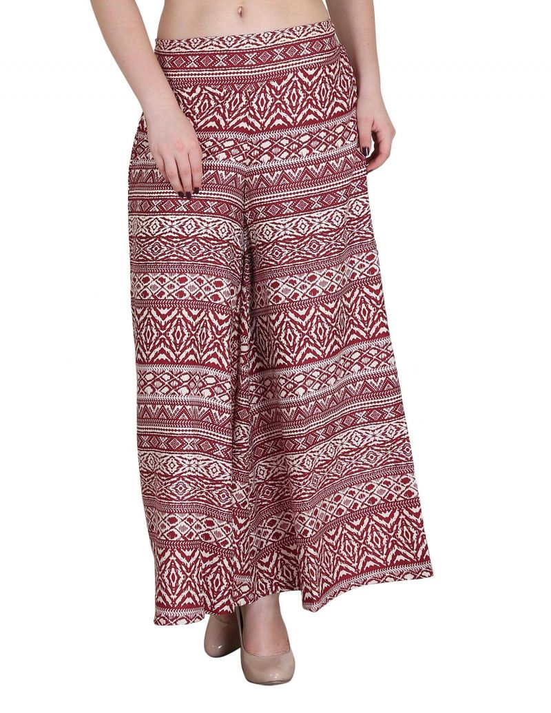 Buy Jollify Women's Regular Fit Brown Trousers(ppz004whtred-) online