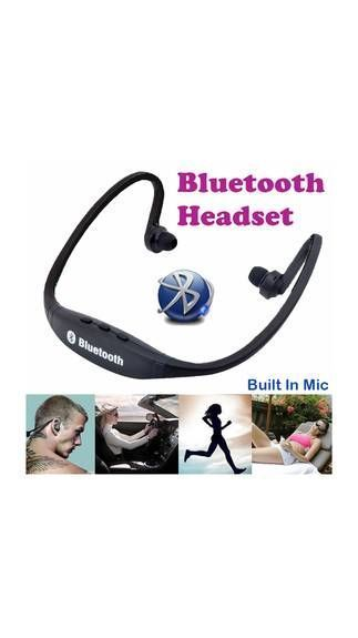 Buy S9 Sports Bluetooth Headset Wireless Headphone With Built-in Mic SD Card Slot online