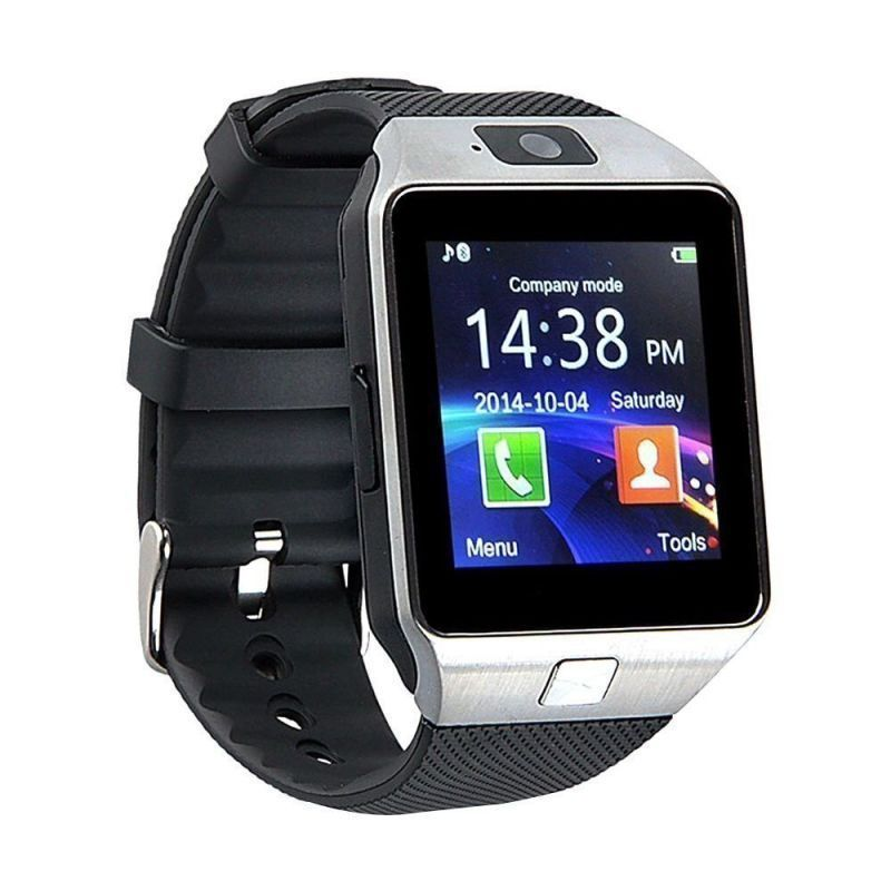 Buy Mobi Fashion Bluetooth And Fitness Tracker Smartwatch With Sim Card & Memory Card Support - Black online