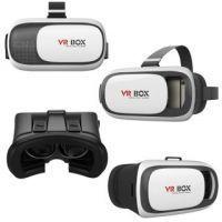 Buy Virtual Reality 3d Vr Box Video Glasses (black White) online