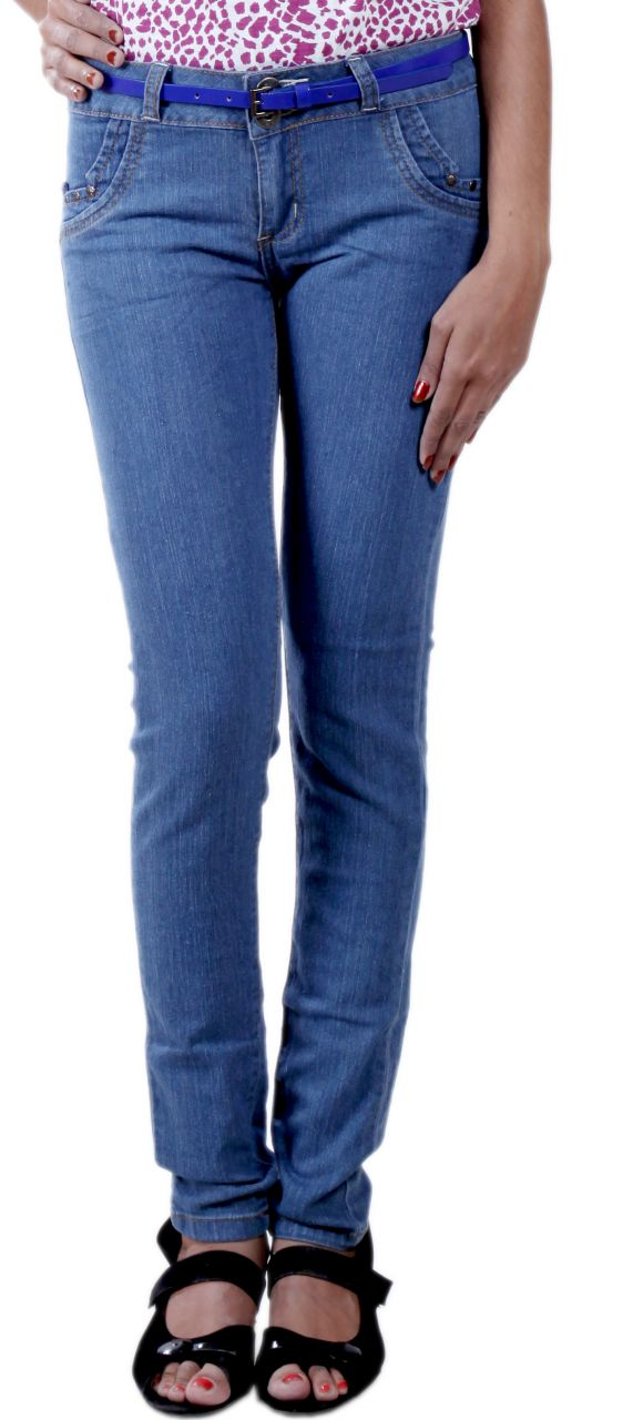 Buy Rosie Skin Fit Women Jeans With Designer Back Pockets online