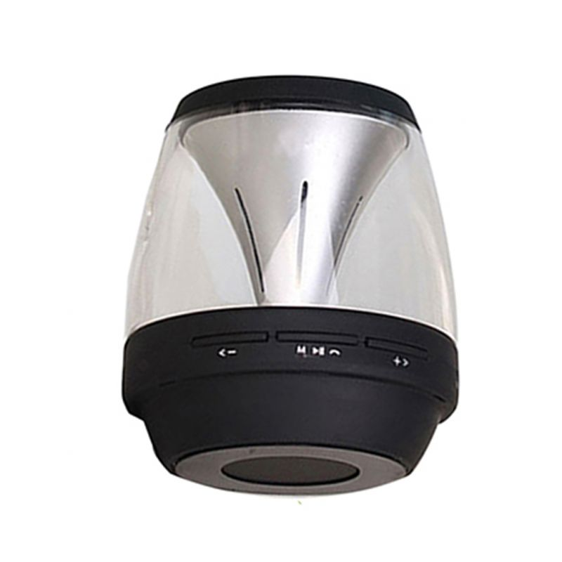 Buy Spider Desigs Tequila Blutooth Transparent Luminous Mini Speaker With Rhythm Light & Built In Mic online