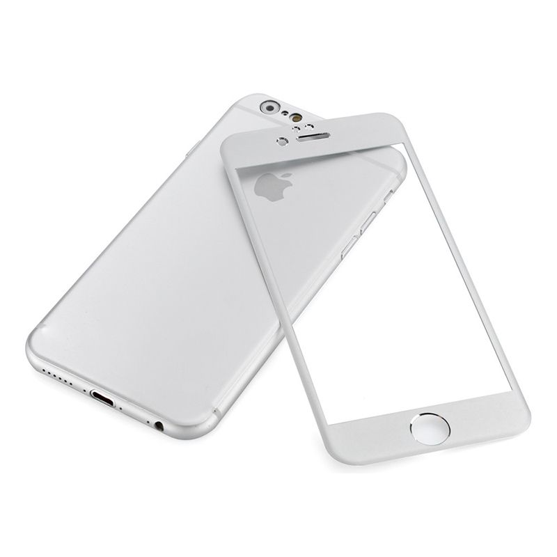 Buy Spider Designs Aluminum & Glass Front-back Cover For I Phone 6 Silver Sd-217 online