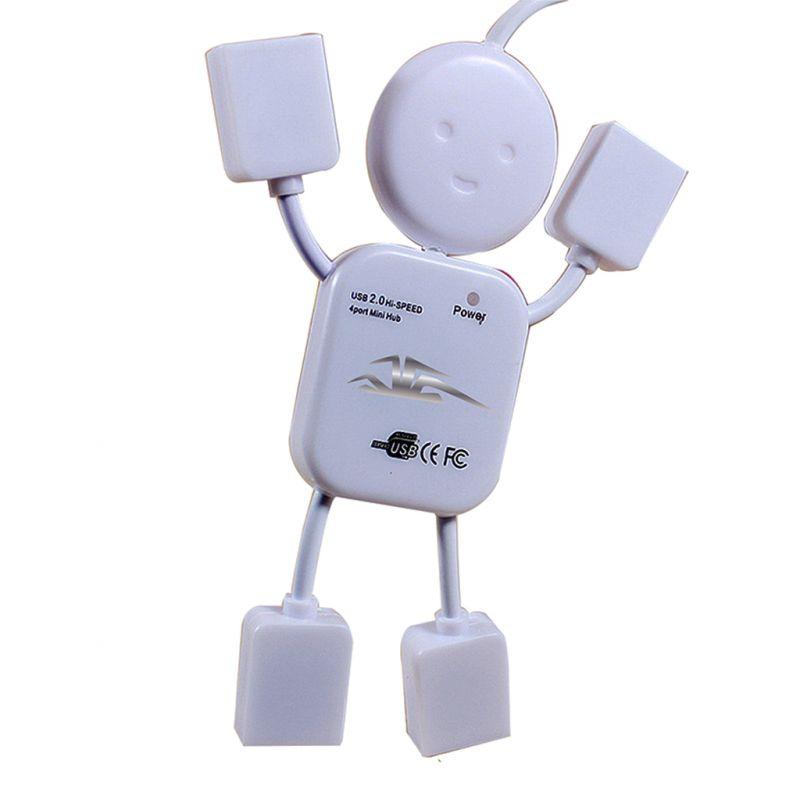 Buy Spider Designs USB Smiley Hub White Sd-303 online