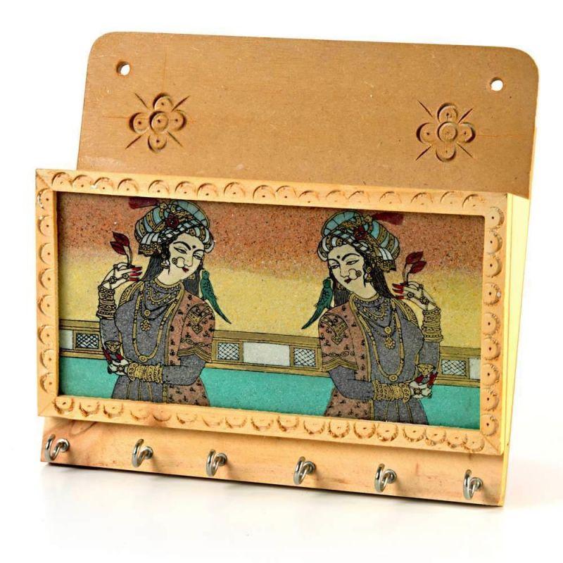 Buy Vivan Creation Gemstone Painting Magazine Keychain Holder -116 online