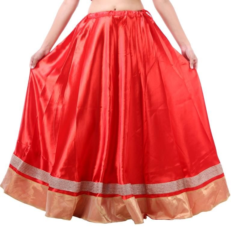 Buy Vivan Creation Shree Mangalam Mart Traditional Satin Full Lehenga Free Size online